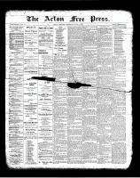 Acton Free Press (Acton, ON)3 May 1900
