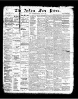 Acton Free Press (Acton, ON)10 May 1900