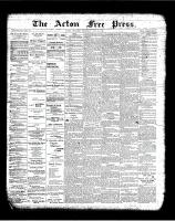 Acton Free Press (Acton, ON)17 May 1900