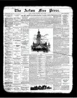 Acton Free Press (Acton, ON)24 May 1900