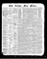 Acton Free Press (Acton, ON)31 May 1900