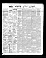 Acton Free Press (Acton, ON)14 Jun 1900