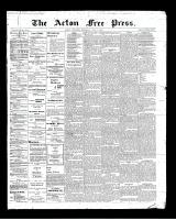 Acton Free Press (Acton, ON)5 Jul 1900