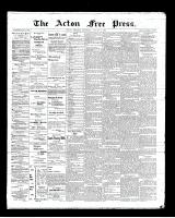 Acton Free Press (Acton, ON)2 Aug 1900