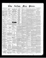 Acton Free Press (Acton, ON)16 Aug 1900