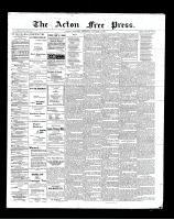 Acton Free Press (Acton, ON)4 Oct 1900