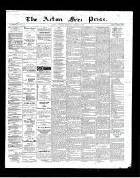 Acton Free Press (Acton, ON)18 Oct 1900