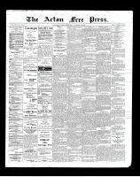 Acton Free Press (Acton, ON)25 Oct 1900