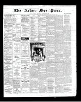 Acton Free Press (Acton, ON)20 Dec 1900