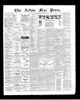 Acton Free Press (Acton, ON)27 Dec 1900