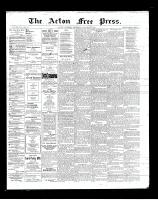 Acton Free Press (Acton, ON)3 Jan 1901