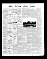 Acton Free Press (Acton, ON), January 10, 1901