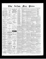 Acton Free Press (Acton, ON), January 17, 1901