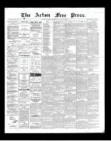 Acton Free Press (Acton, ON)24 Jan 1901