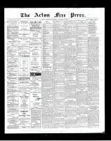 Acton Free Press (Acton, ON), January 31, 1901
