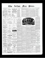 Acton Free Press (Acton, ON), February 7, 1901