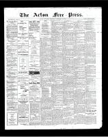 Acton Free Press (Acton, ON)14 Feb 1901