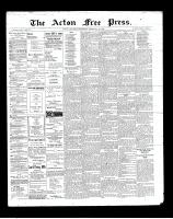 Acton Free Press (Acton, ON), February 28, 1901