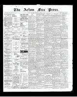 Acton Free Press (Acton, ON), March 7, 1901