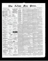 Acton Free Press (Acton, ON)14 Mar 1901