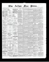 Acton Free Press (Acton, ON), March 21, 1901