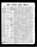 Acton Free Press (Acton, ON), March 28, 1901