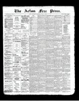 Acton Free Press (Acton, ON)4 Apr 1901