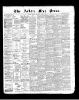 Acton Free Press (Acton, ON), April 11, 1901