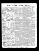Acton Free Press (Acton, ON), April 18, 1901