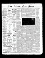Acton Free Press (Acton, ON), April 25, 1901