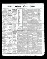 Acton Free Press (Acton, ON)2 May 1901