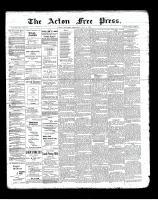 Acton Free Press (Acton, ON), May 9, 1901