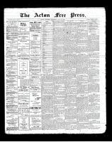 Acton Free Press (Acton, ON), May 16, 1901