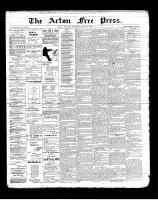 Acton Free Press (Acton, ON)23 May 1901