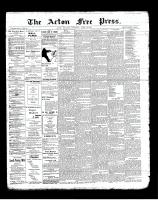 Acton Free Press (Acton, ON)13 Jun 1901