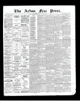 Acton Free Press (Acton, ON), June 27, 1901