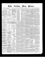 Acton Free Press (Acton, ON)4 Jul 1901