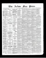Acton Free Press (Acton, ON)18 Jul 1901