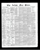 Acton Free Press (Acton, ON), July 25, 1901