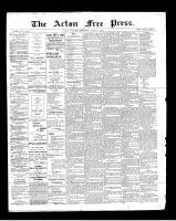 Acton Free Press (Acton, ON), August 1, 1901