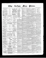 Acton Free Press (Acton, ON), August 15, 1901