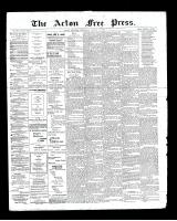Acton Free Press (Acton, ON), August 22, 1901
