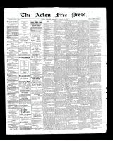 Acton Free Press (Acton, ON), August 29, 1901