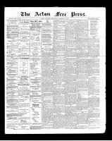 Acton Free Press (Acton, ON), September 19, 1901