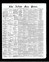 Acton Free Press (Acton, ON), October 3, 1901