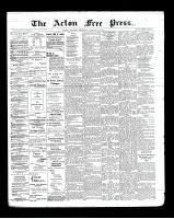 Acton Free Press (Acton, ON), October 10, 1901