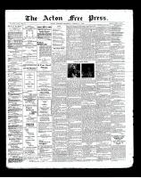 Acton Free Press (Acton, ON)17 Oct 1901