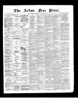 Acton Free Press (Acton, ON), November 21, 1901