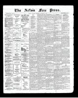 Acton Free Press (Acton, ON)5 Dec 1901