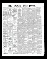Acton Free Press (Acton, ON), December 19, 1901